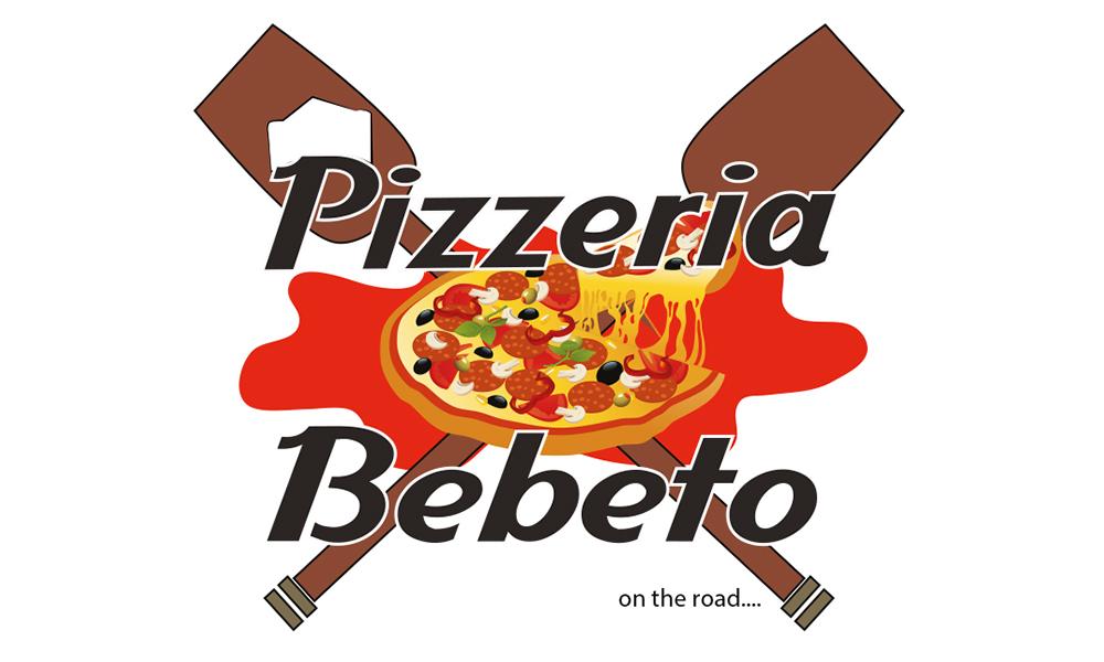 "Logo ""PIZZERIA BEBETO"""