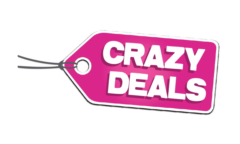 "Logo ""CRAZY DEALS"""