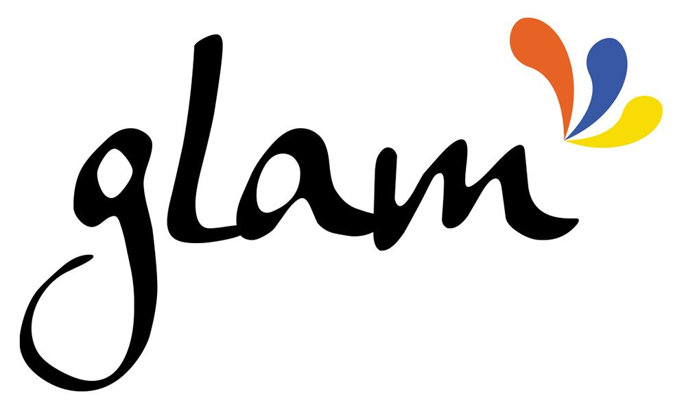 "Logo ""GLAM"""